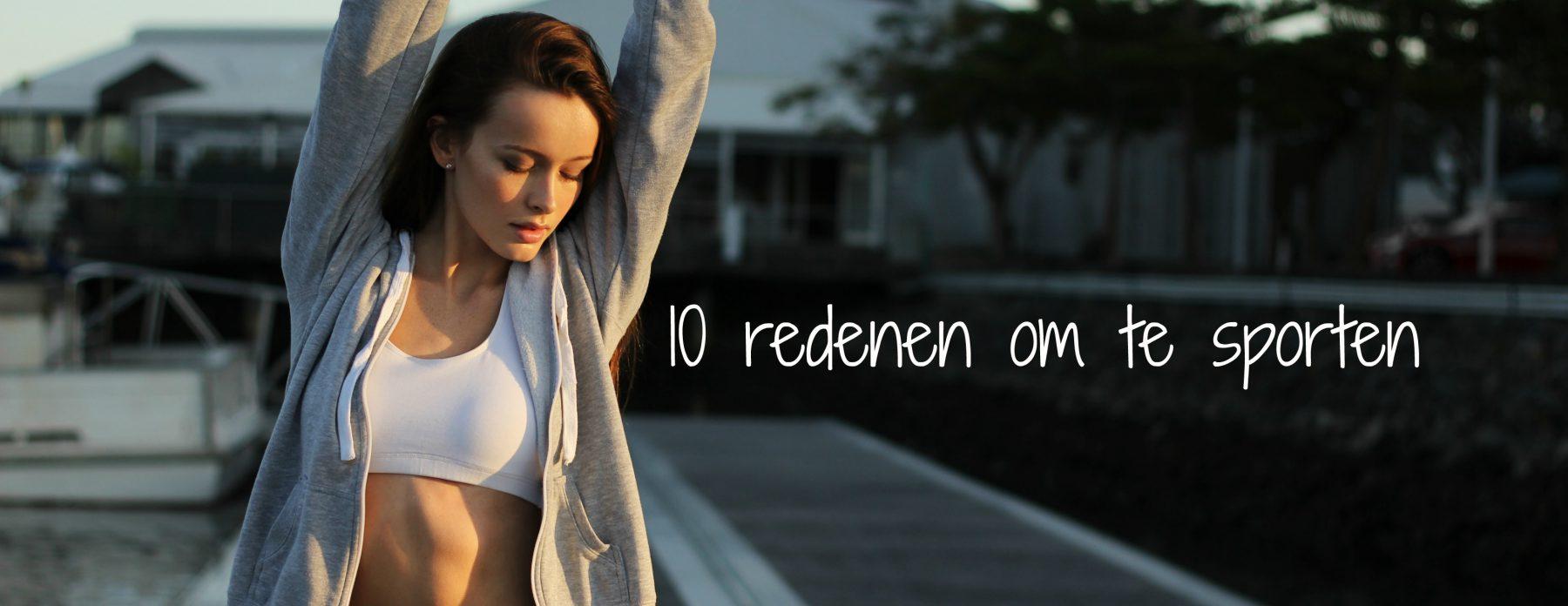 Sporten : 10 redenen om ervoor te gaan !
